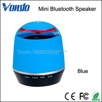 Wireless Portable Bluetooth Speaker for iPhone iPad Android or Desktop Devices with MP3 Player and Microphone, 3w Clear Sound