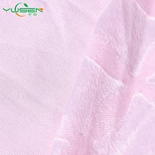 high quality 100% Polyester Embossed micro velboa for baby blankets material
