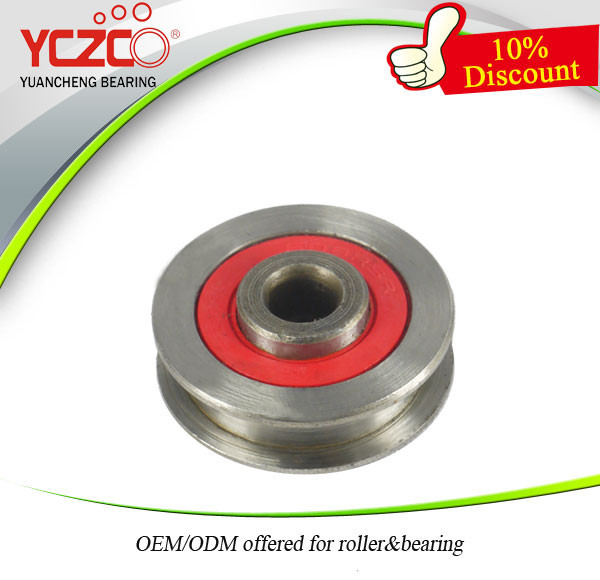 YCZCO High Speed and Low Noise 608zz square groove ball bearing