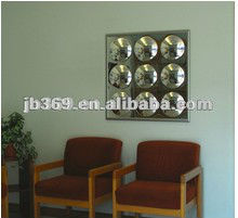 9 panel acrylic mirror for home decoration