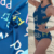 4 Way stretch spandex swimsuit digital printed swimwear fabric