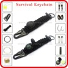 china camping products custom camping fire whistle keyring