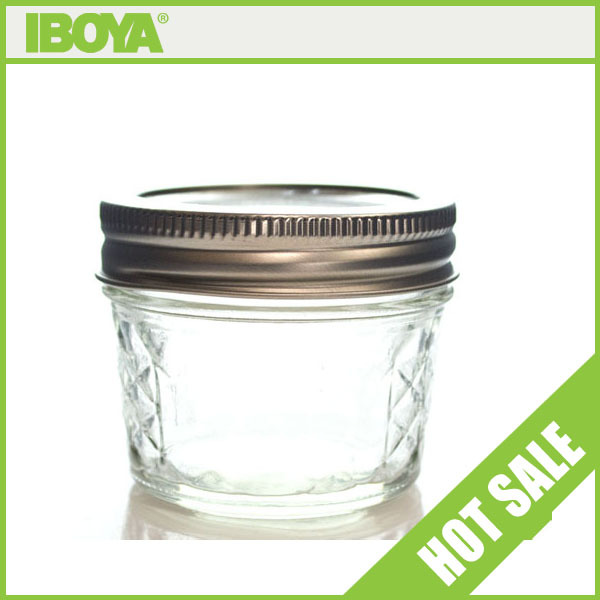 mini wide mouth glass jars wholesale