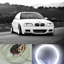 New designed Rgb Color Led Angel Eye Halo Rings Auto Head Lights 40mm 50mm 60mm 70mm 80mm 90mm 100mm