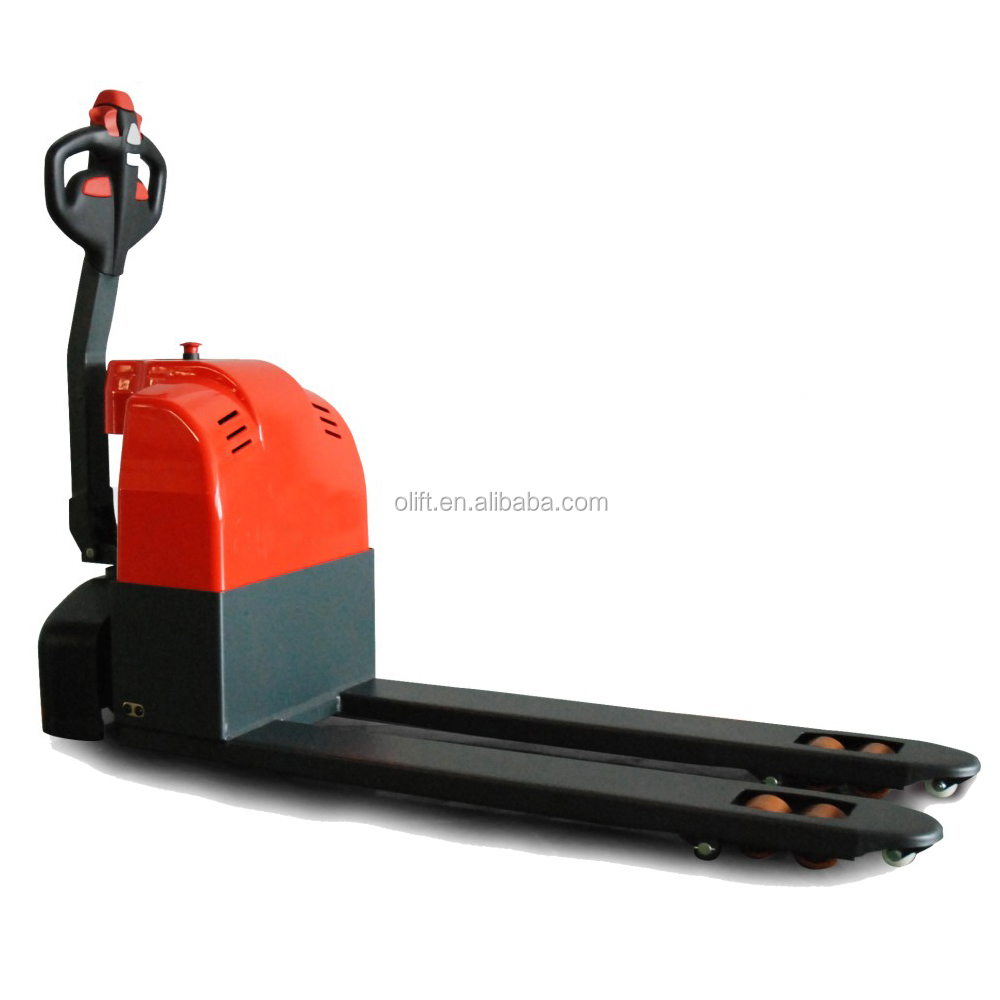 Best choose 1.5t full electric pallet truck video training kit with certificates CE ISO with SGS