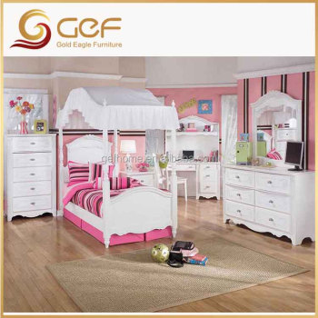 Kids wooden cheap children bedroom furniture sets gef kb for Cheap kids bedroom furniture