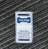 Special using starched custom logo woven fabric garment label