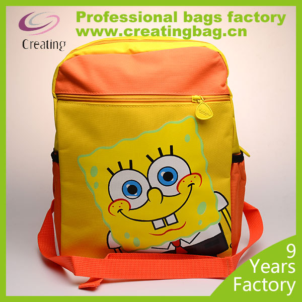 600D Polyester School Backpack for child
