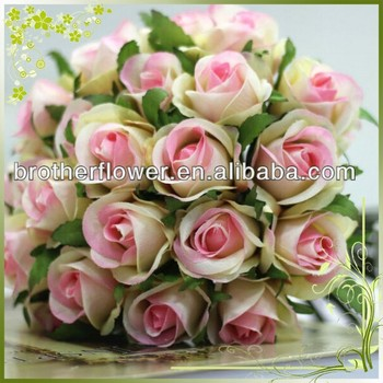 Wholesale 26 heads artificial rose bush bouquet silk flower wedding wholesale 26 heads artificial rose bush bouquet silk flower wedding decoration mightylinksfo
