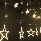 2020 candy multicolor led christmas star twinkle string lights