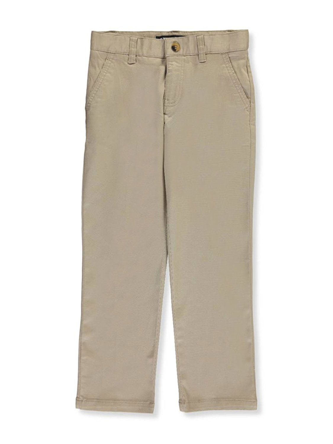 222d9617 Get Quotations · French Toast Big Boys' Twill Straight Fit Chino Pants -  Khaki,