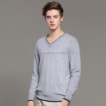 467ed49ac9 Cheap Price Heavy Warm V Neck Thin Cashmere Man Sweater - Buy ...