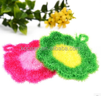 Polyester Acrylic Dish Cleaning Cloth Handcrafted Non-stick Oil Lint-free Cleaning Cloth