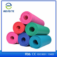 Resistance band organic cotton hot square organic cheap yoga mat with bag
