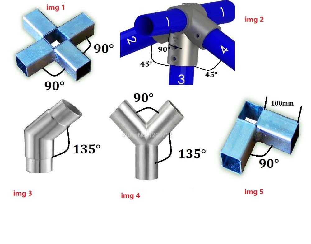 Kohlenstoffstahlrohr/verzinktem Designer-vierkant-stahlrohrverbinder ...