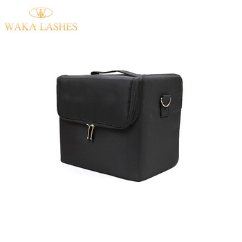 Professionele private label sterk duurzaam licht makeup bag custom wimper extension training kit