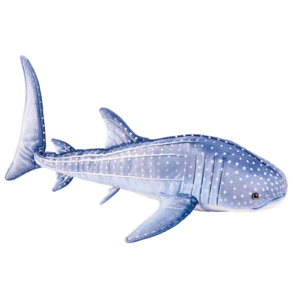 "Blue Whale Shark Plush Stuffed Animal Toy 24"""
