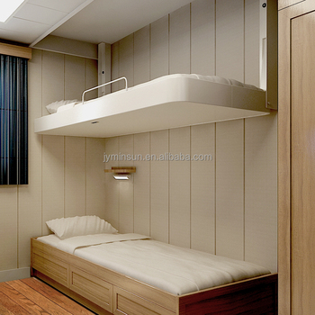 Metal Folding Wall Bed Ship Cabin Bed Marine Furniture Wall Mount