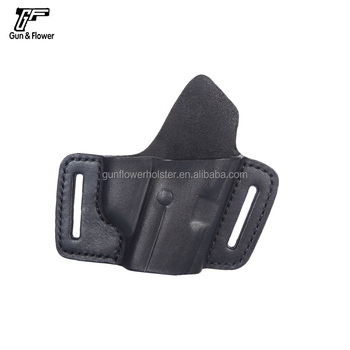 Black Owb Quick Draw Leather Glock 17 19 Beretta Sig Sauer P226/228/320  Holster - Buy Gun Leather Holster,Owb Leather Holster,Owb Leather Holster  For