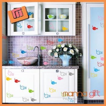 Kualitas Tinggi Stiker Hiasan Dinding Dilepas Dapur Ubin
