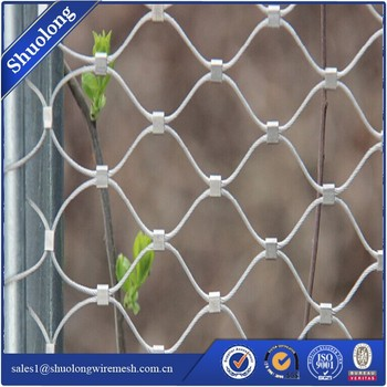 1.2mm-3.5mm Flexible Stainless Steel Wire Rope Cable Fence Mesh ...