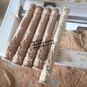 carved solid rubber wood furniture table legs cabinet feet furniture parts