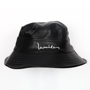 5b3c57db9e883 Leather Bucket Hat