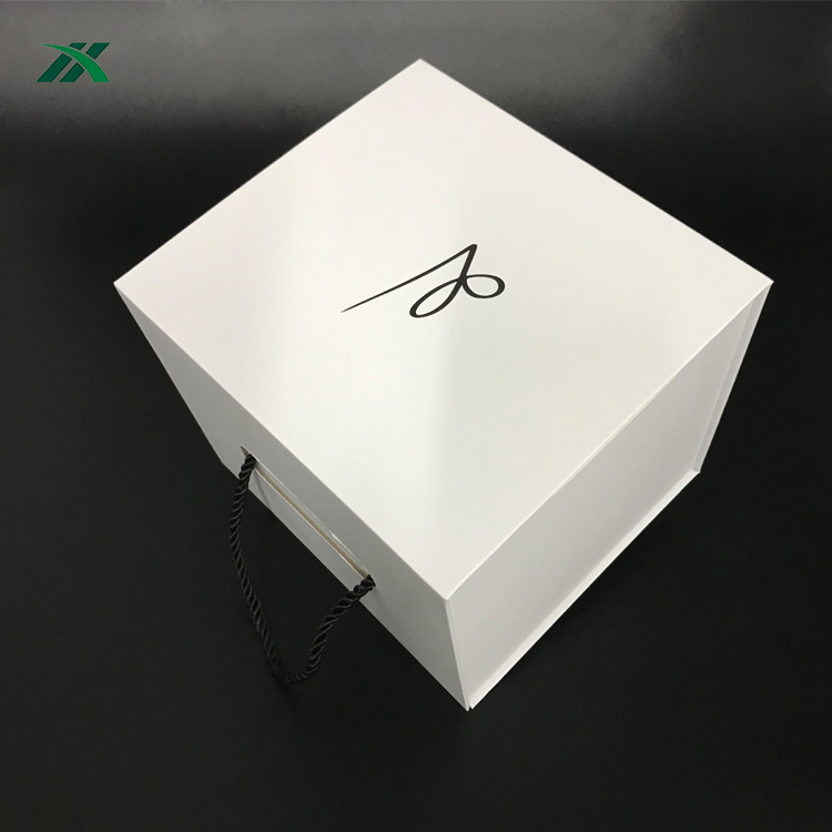 Custom Luxury Gift Hat square headgear Gift Box Packaging