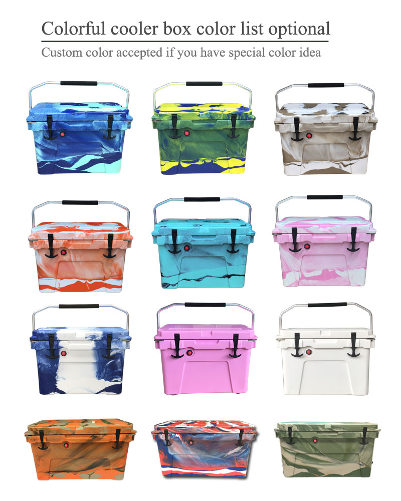 factory cheap Cooler Box For Max Cold Ice Chest Insulated Marine Fishing