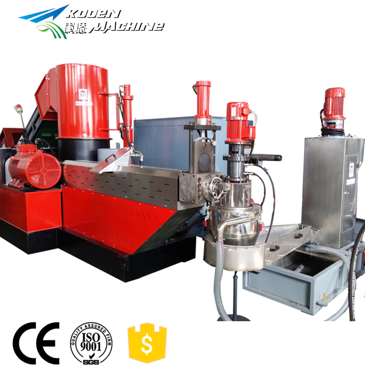 Plastic film granulator machine/pp pe film recycling pelletiseren extruder