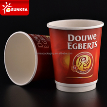 Custom printed double wall disposable paper cup