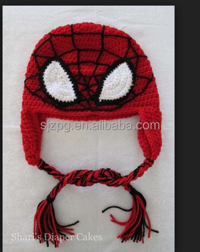 Crochet Hat Pattern Spiderman Wholesale Hat Suppliers Alibaba