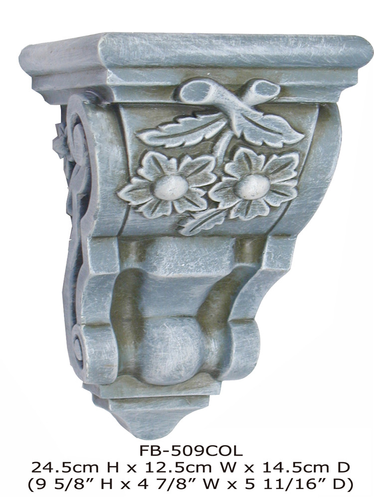 High Density Beautiful Cheap Decorative PU polyurethane bracket architectural decorative corbels