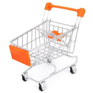 Serviceable supermarket shopping cart trolley metal shopping trolley price