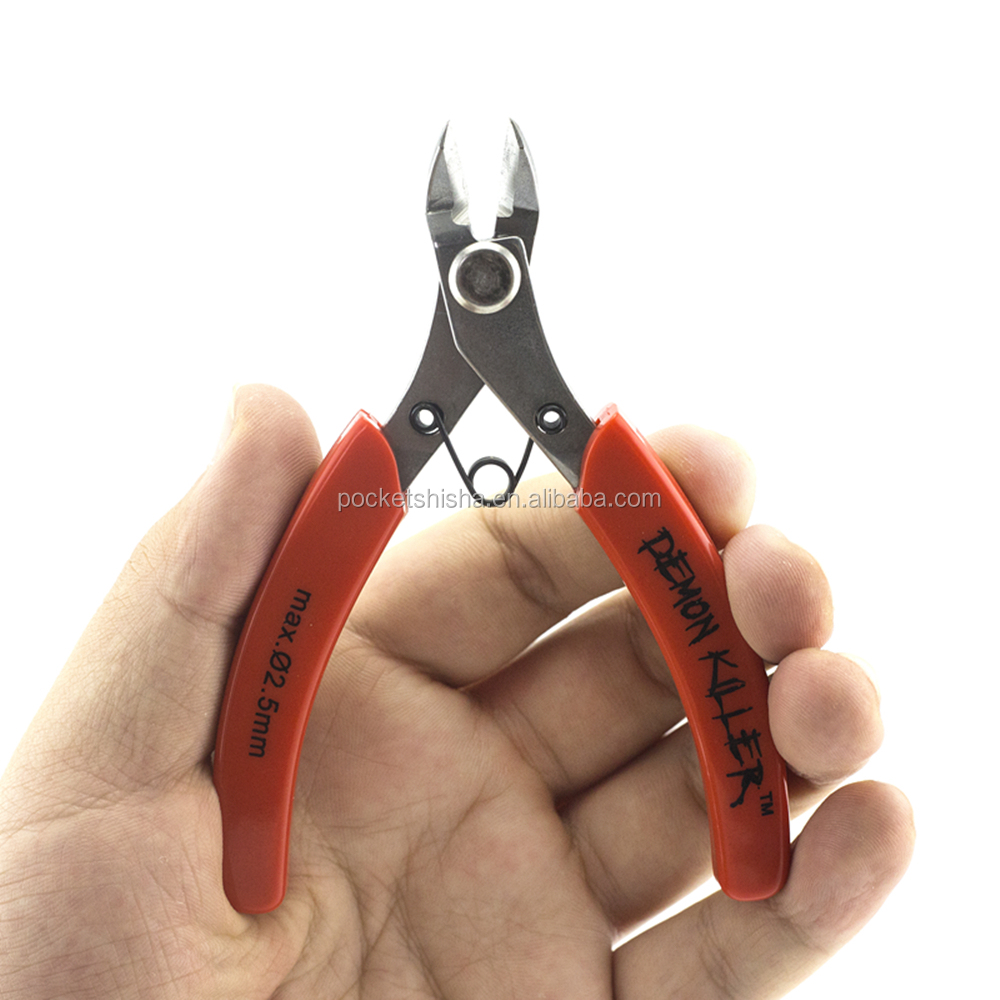 Demon killer 3Cr13 stainless steel wire cutter plier function of cr-v steel side cutter pliers