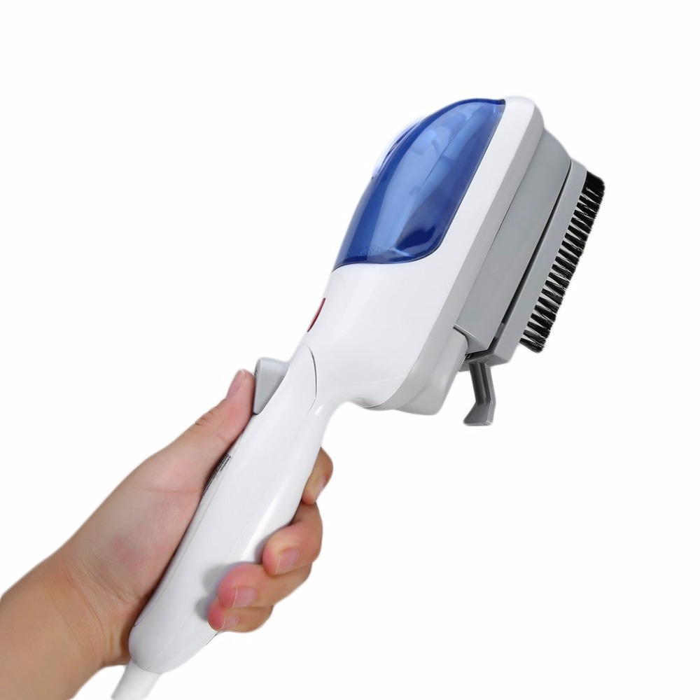 2019 NEW style! ! Portable Fabric Steam Iron Brush, Handheld Travel Garment Clothes Steamer