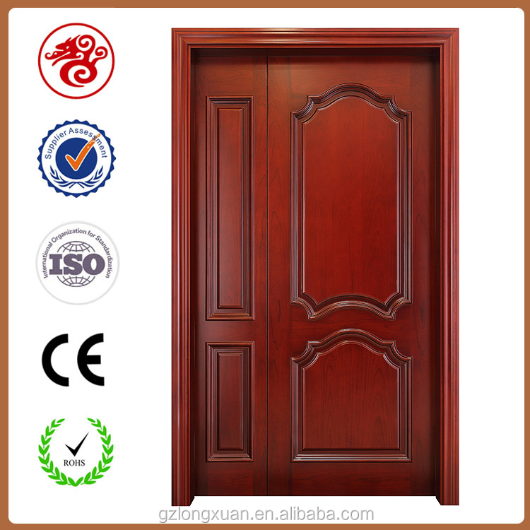fashion room door desing interior composite HDF wood door mother and son door from guangzhou supplier