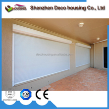 Security manual/electric operation aluminum rolling shutters dealers
