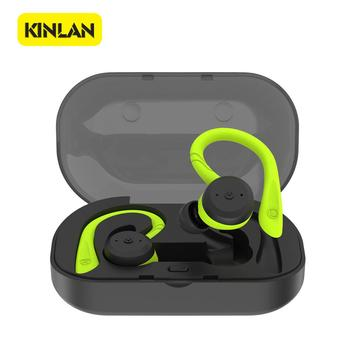 2019 Hot Best Selling Wireless Bluetooth Earbuds 5.0 With Charge Case Portable Waterproof True Bluetooth 5.0 For Outside Sports