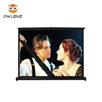 Mobile Phones Connection Screen Portable Projector Screen 40-50 inches Table Projection Screen For Home/Business/Outdoor