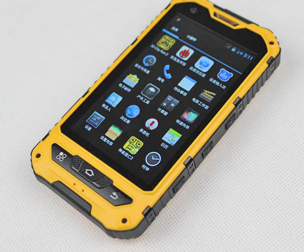 rugged smartphone A8 4 inch IPS Rugged mobile phone with 3G GPS