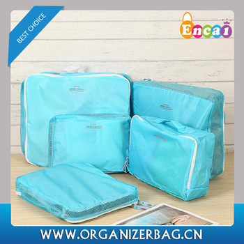 3e9bebaa4d06 Encai Handy Travel Luggage Organiser Bag Set 5 In 1/high Quality Clothes  Storage Bag Set/folding Toiletry Bags In Trolley - Buy Encai Handy Travel  ...