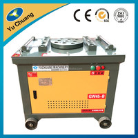 GW45 45mm flat bar angle bending machine supplier