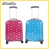 professional manufacturer factory colorful carry on caster suitcase