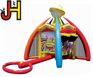 High Quality Inflatable Interactive Basketball Soccer Goal Arena World Junior Sport Games