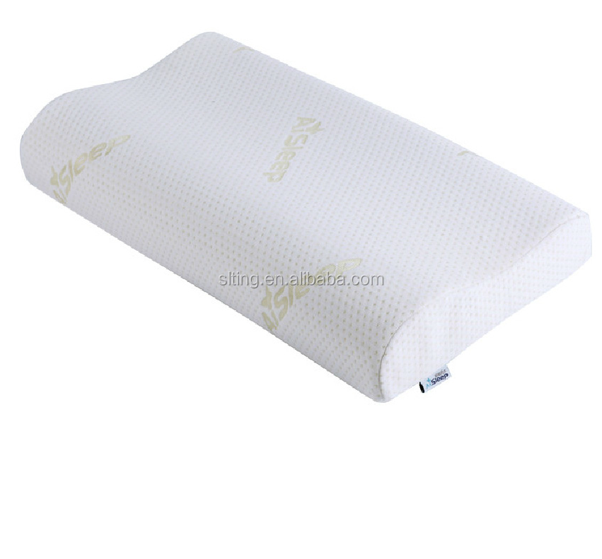 Hypoallergenic Contour Memory Foam Bamboo Pillows with Zipper