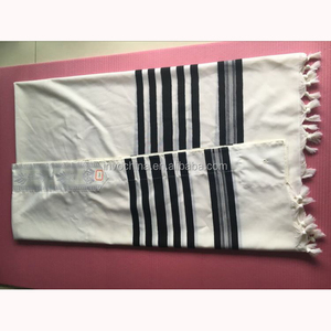 Wholesale Logo wool Jewish Tallit Prayer Shawl