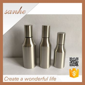 Stainless Steel Oil Pouring Bottle Vinegar Sauce Container Kitchen Can