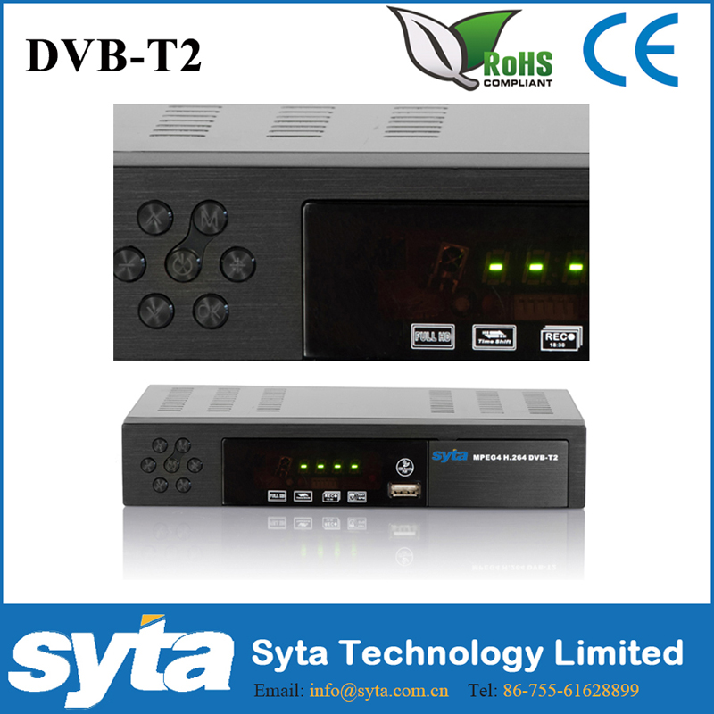 SYTA hd DVB-T2 <strong>Set</strong> <strong>top</strong> boxmutil-choice panel stb television <strong>TV</strong> receiver DVB T2 <strong>tuner</strong> with DVB-T MPEG-2 4 stb