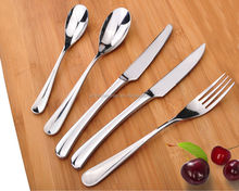 Low MOQ fast delivery international stainless steel tableware
